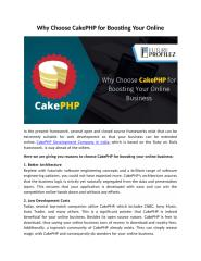 Why Choose CakePHP for Boosting Your Online.docx