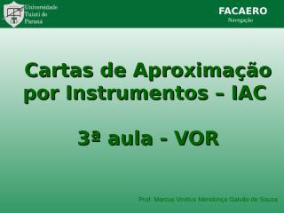 Interpret Cartas VOR.ppt