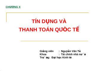 Chuong X.ppt