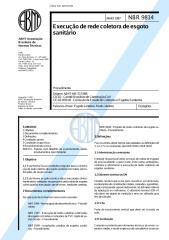 nbr 9814 nb 37 - execucao de rede coletora de esgoto sanitario.pdf