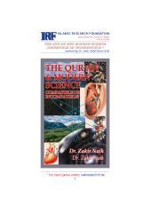 The Quran and Modern Science - Dr. Zakir Abdul Karim Naik...pdf