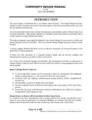 Community Design Manual Update 011209.doc