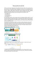 cara memasang menu download file.docx