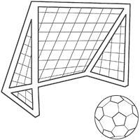 Soccer ball net gif