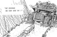 Cartoon Driving gif